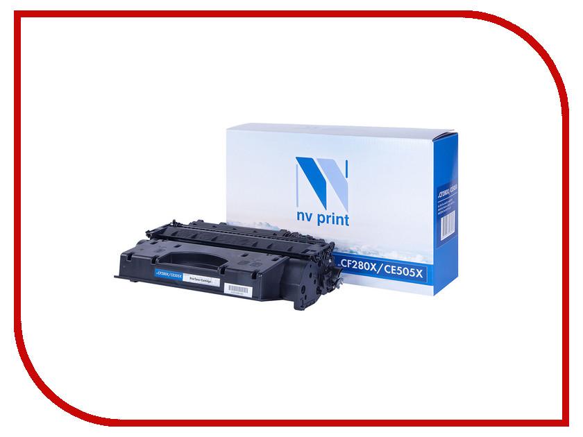 Картридж NV Print CE505X/CF280X для LaserJet Pro M401d/M401dn/M401dw/M401a/M401dne/MFP-M425dw/M425dn/P2055/P2055d/P2055dn/P2055d картридж sakura ce505x cf280x для hp laserjet 400m 401dn p205 lj m425 p2055 p2055d p2055dn черный 6500стр