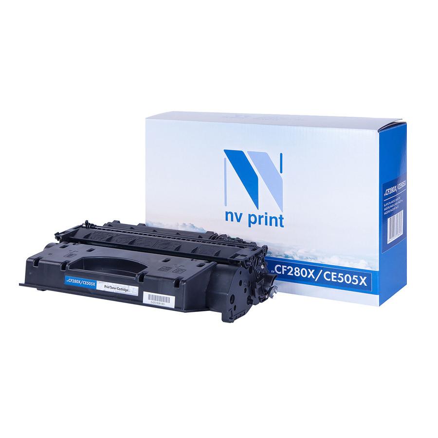 Картридж NV Print CE505X/CF280X для LaserJet Pro M401d/M401dn/M401dw/M401a/M401dne/MFP-M425dw/M425dn/P2055/P2055d/P2055dn/P2055d