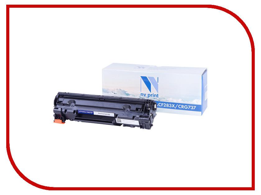 Картридж NV Print CF283X/CRG737 для HP LaserJet Pro 201dw/n / MFP M225dn/dw/MF212w/i-Sensys MF418x nv print cf212a cartridge 731 yellow тонер картридж для hp laserjet pro m251 m276 canon lbp 7100cn 7110cw