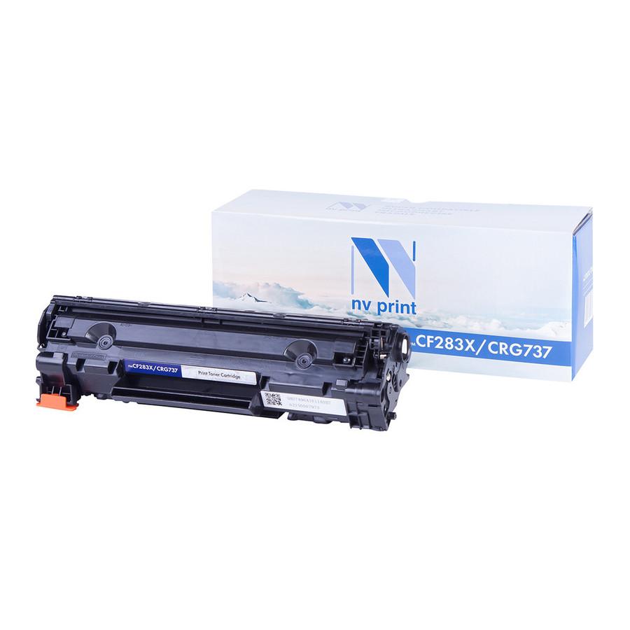 Картридж NV Print CF283X/CRG737 для HP LaserJet Pro 201dw/n / MFP M225dn/dw/MF212w/i-Sensys MF418x