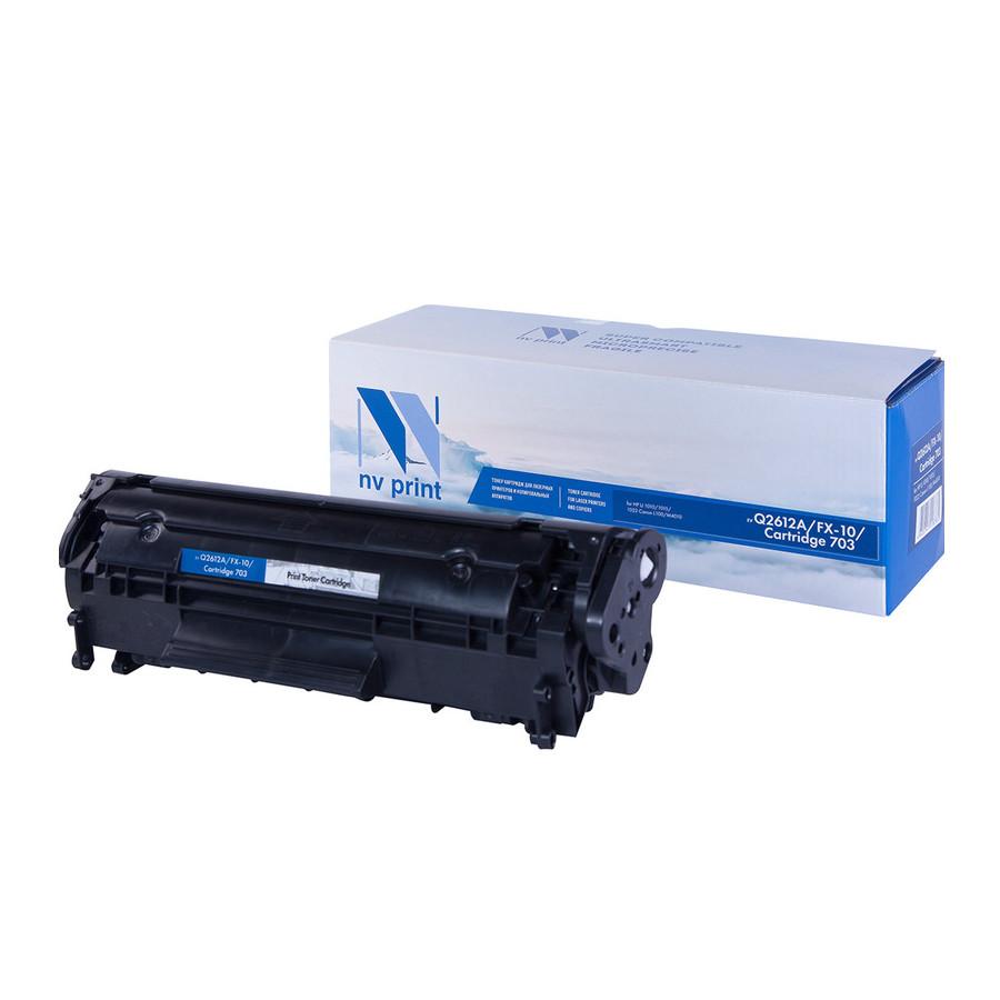 Фото - Картридж NV Print Q2612A/FX-10/Can703 для LJ 1010/1015/1022/3020 L100/M4010 картридж nv print fx 10 для l100 120 mf4010 4140 4330 4660