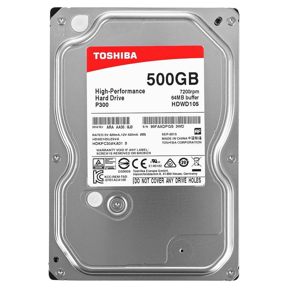 Жесткий диск Toshiba 500Gb HDWD105UZSVA