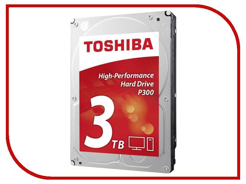 внутренние HDD/SSD HDWD130EZSTA  Жесткий диск 3Tb - Toshiba P300 HDWD130EZSTA / HDWD130UZSVA