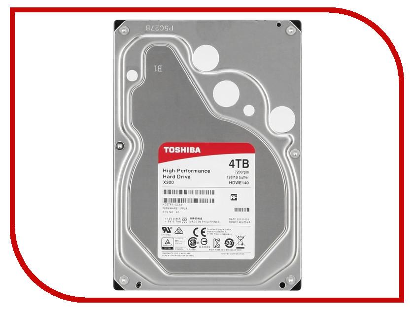 Жесткий диск 4Tb - Toshiba HDWE140EZSTA / HDWE140UZSVA toshiba p300 hdwd130uzsva