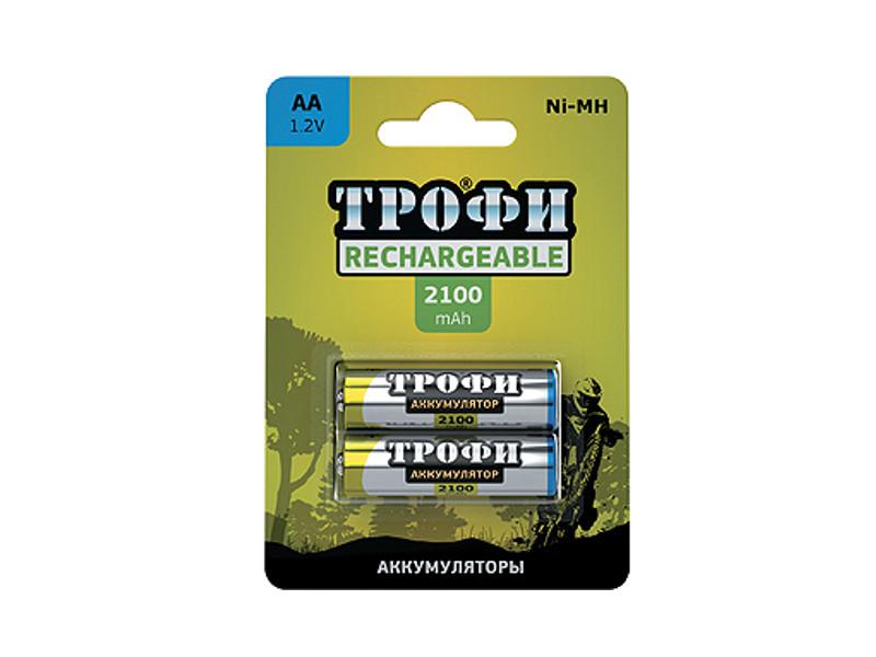 Аккумулятор AA - Трофи R6 2100 mAh HR6-2BL C0032099<br>