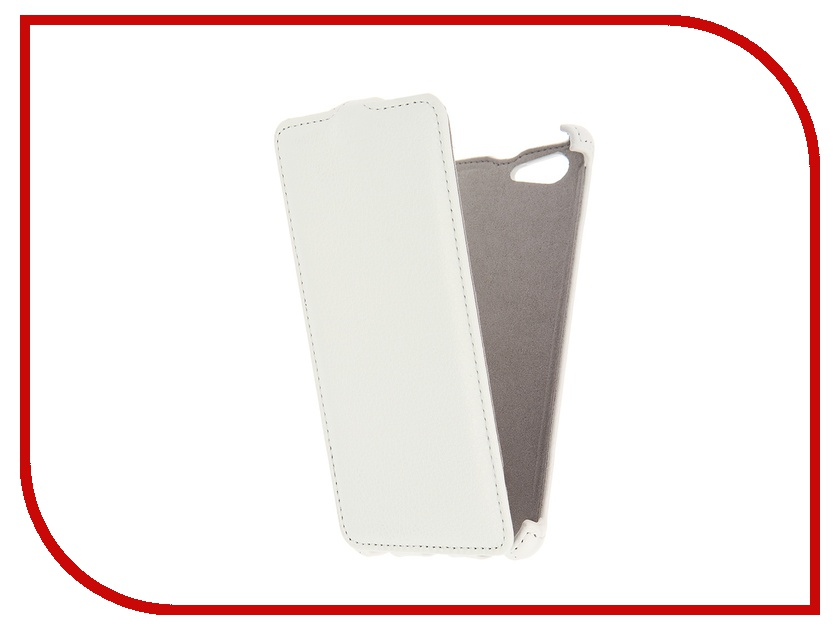 Аксессуар Чехол Sony Xperia M5 Activ Flip Leather White 51268