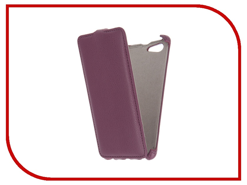 Аксессуар Чехол Sony Xperia M5 Activ Flip Leather Violet 51270<br>
