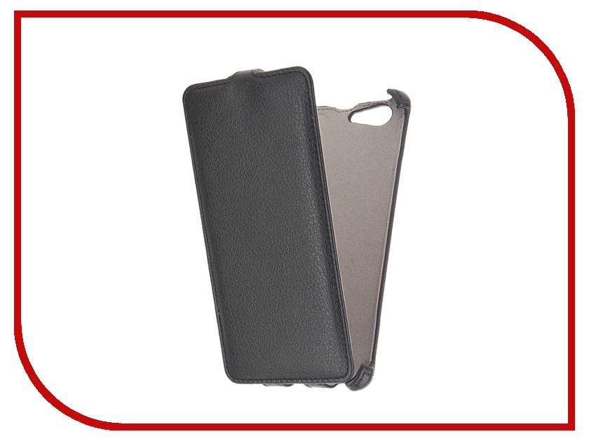 Аксессуар Чехол Sony Xperia M5 Activ Flip Leather Black 51266<br>