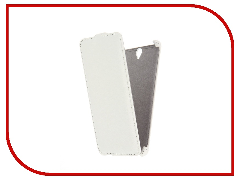 Аксессуар Чехол Sony Xperia C5 Ultra Activ Flip Leather White 51280