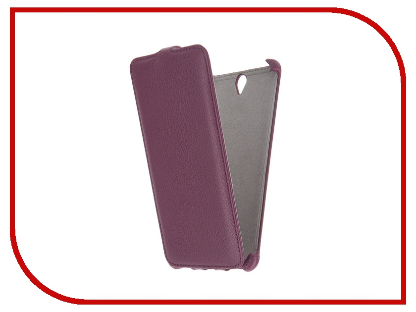 Аксессуар Чехол Sony Xperia C5 Ultra Activ Flip Leather Violet 51282<br>