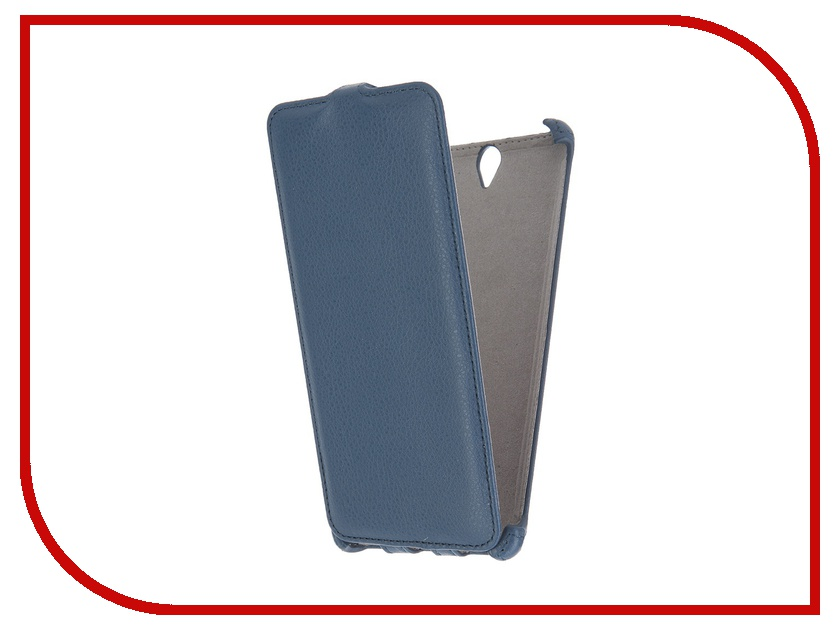 Аксессуар Чехол Sony Xperia C5 Ultra Activ Flip Leather Blue 51281