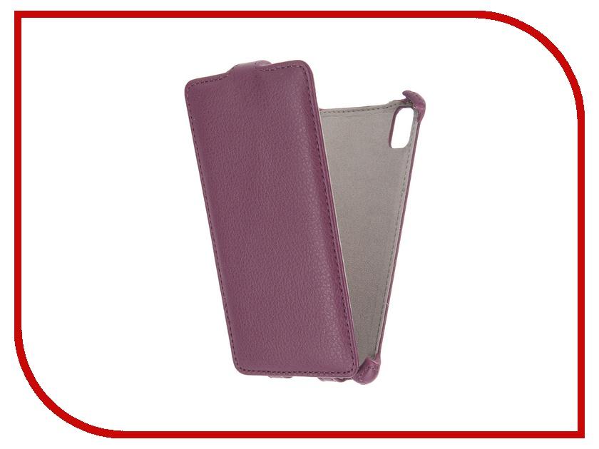 ��������� ����� Lenovo Vibe Shot Activ Flip Leather Violet 51257