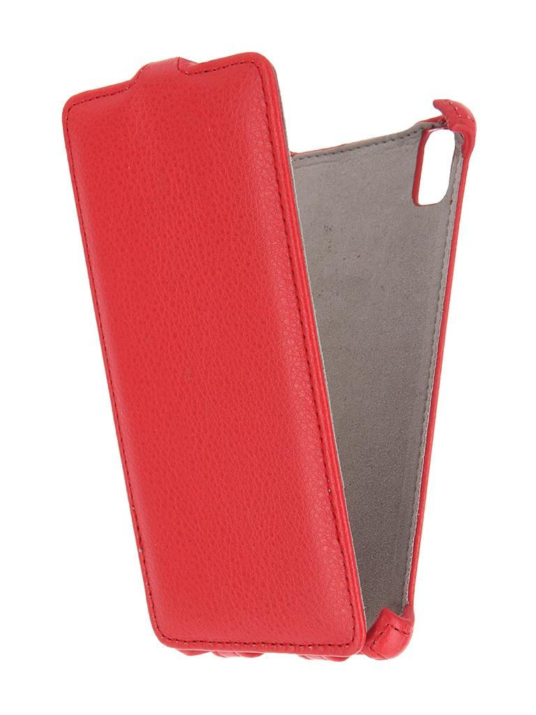 Аксессуар Чехол Lenovo Vibe Shot Activ Flip Leather Red 51255<br>