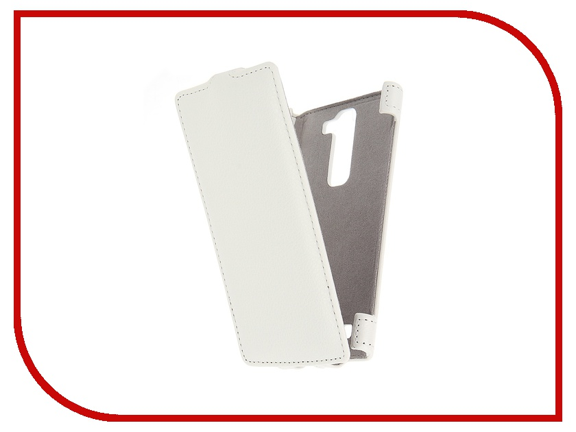 все цены на Аксессуар Чехол LG G4c Activ Flip Leather White 51325