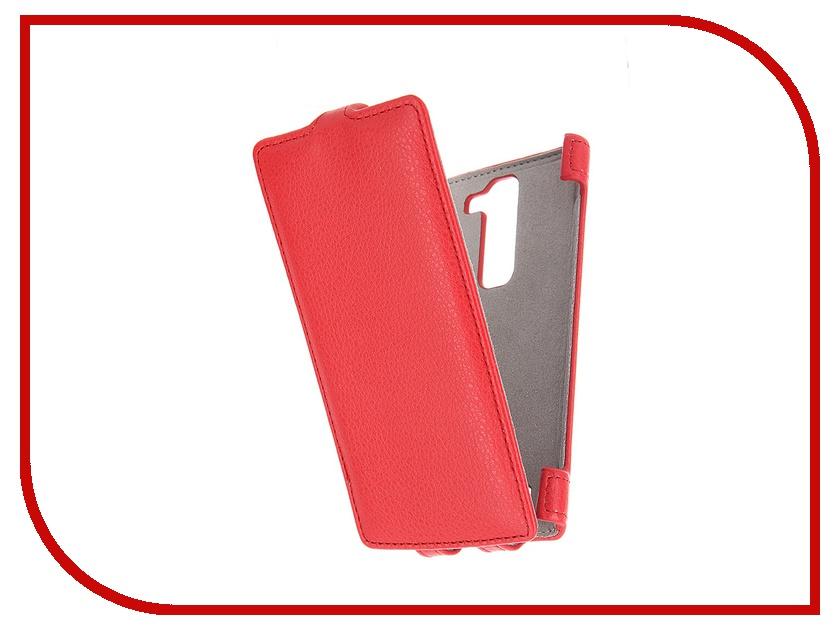 Аксессуар Чехол LG G4c Activ Flip Leather Red 51324
