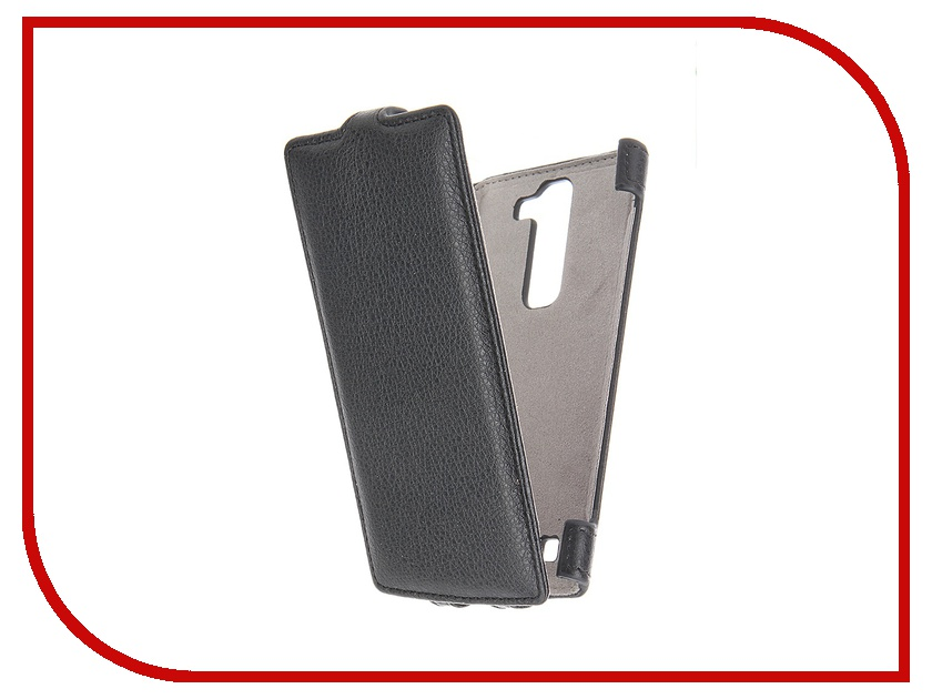Аксессуар Чехол LG G4c Activ Flip Leather Black 51323<br>