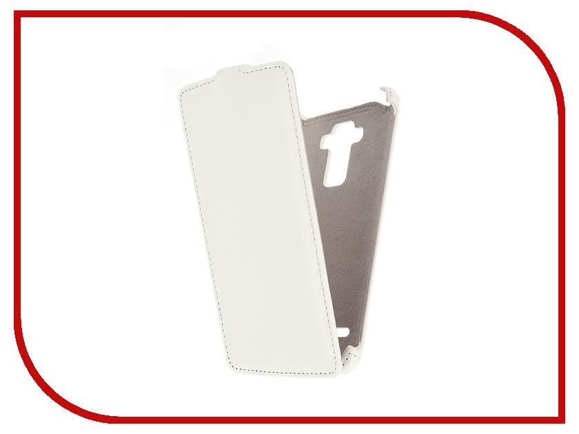 Аксессуар Чехол LG G4 Stylus Activ Flip Leather White 51328<br>