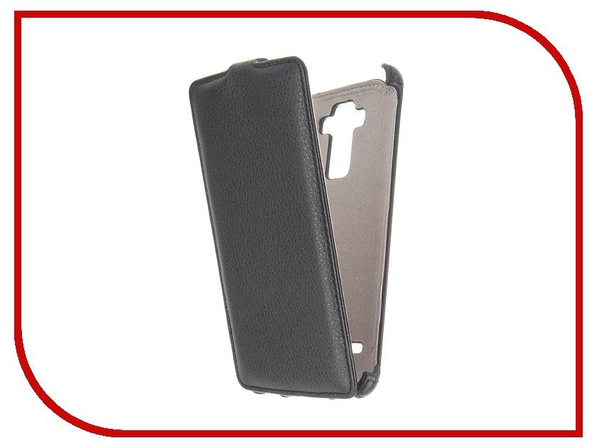 цена на Аксессуар Чехол LG G4 Stylus Activ Flip Leather Black 51326