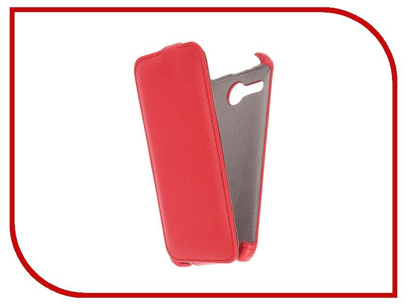 Аксессуар Чехол Acer Liquid Z520 Activ Flip Leather Red 51294