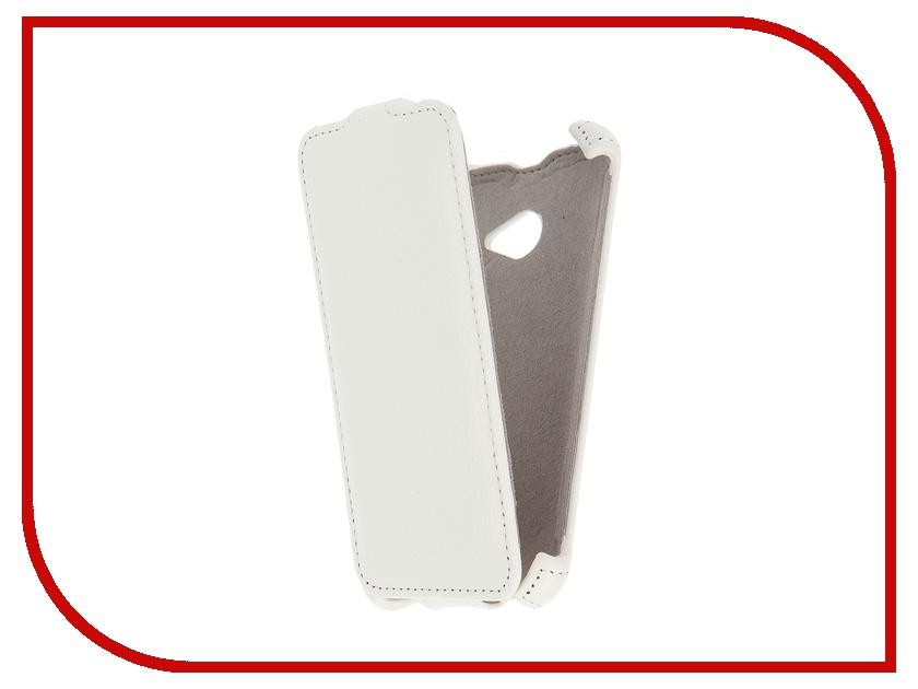 Аксессуар Чехол Acer Liquid Z220 Activ Flip Leather White 51289 acer liquid e3