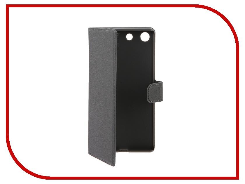 Аксессуар Чехол Sony Xperia M5 Muvit MFX Slim S Folio Grey SESLI0159<br>
