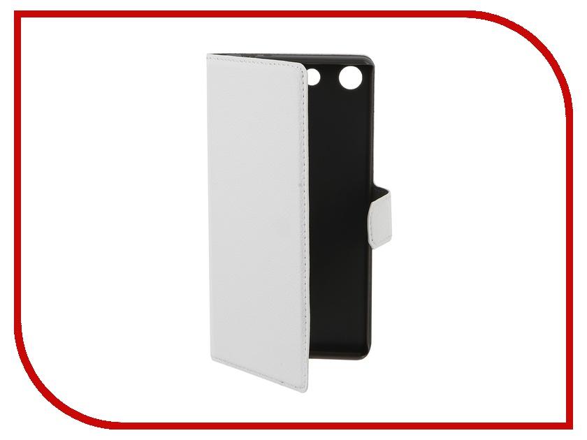 Аксессуар Чехол Sony Xperia M5 Muvit MFX Slim S Folio White SESLI0158<br>
