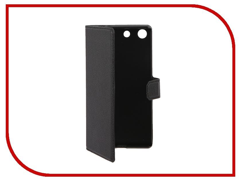 Аксессуар Чехол Sony Xperia M5 Muvit MFX Slim S Folio Black SESLI0157<br>