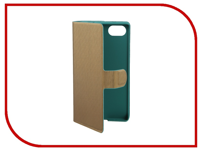 все цены на  Аксессуар Чехол Sony Xperia Z5 Compact Muvit MFX Chameleon Folio Case Green-Gold SECHF0003  онлайн