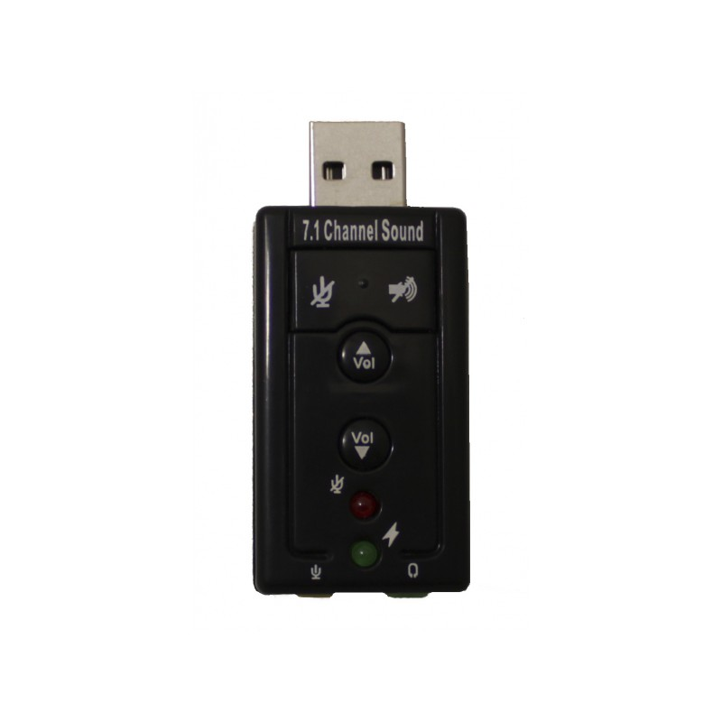 Звуковая карта Palmexx USB Sound Adapter 7.1 Channel PX/Audio7.1Chan