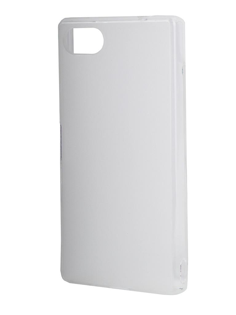 Аксессуар Чехол Sony Xperia Z5 Compact Muvit MFX Minigel Case Translucent SESKI0067<br>