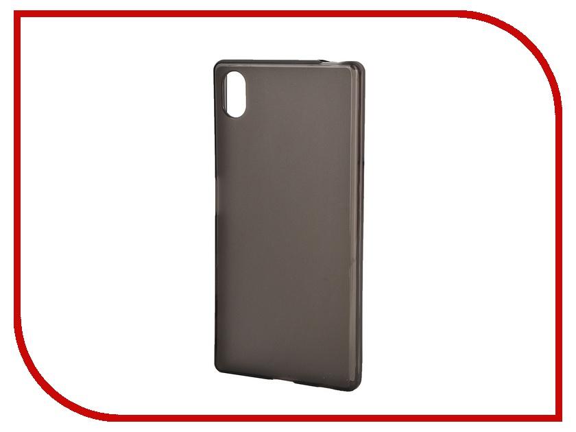 Аксессуар Чехол Sony Xperia Z5 Muvit MFX Dark Smoke Minigel Case Translucent SESKI0069