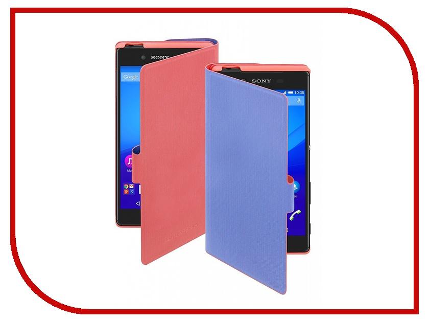 Аксессуар Чехол Sony Xperia Z5 Muvit MFX Chameleon Folio Case Orange-Violet SECHF0004<br>