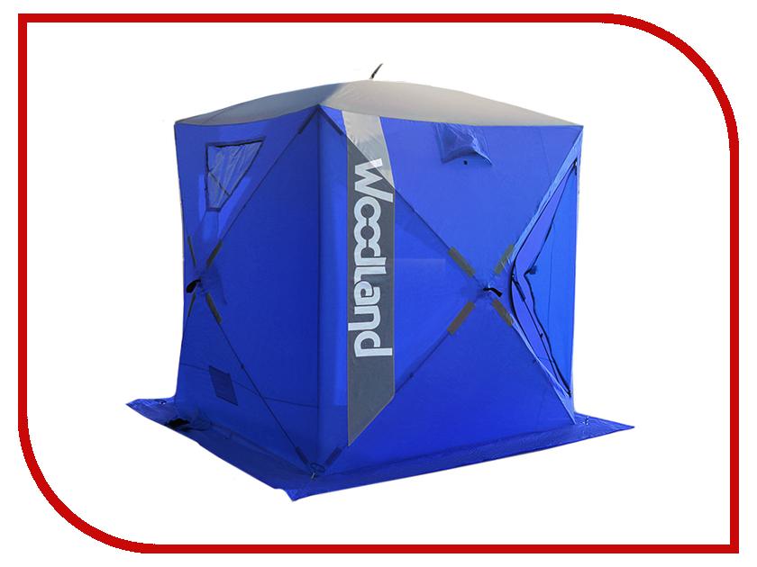 Палатка WoodLand Ice Fish 4 180x180x210cm Blue футболка assault ice