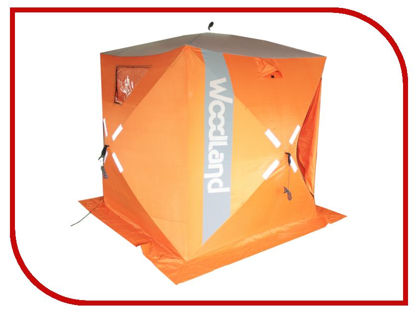 Палатка WoodLand Ice Fish 2 165x165x185cm Orange палатка woodland trek 2