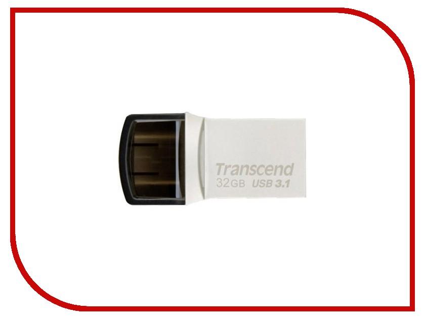 USB Flash Drive 32Gb - Transcend JetFlash 890S 64gb transcend jetflash 350