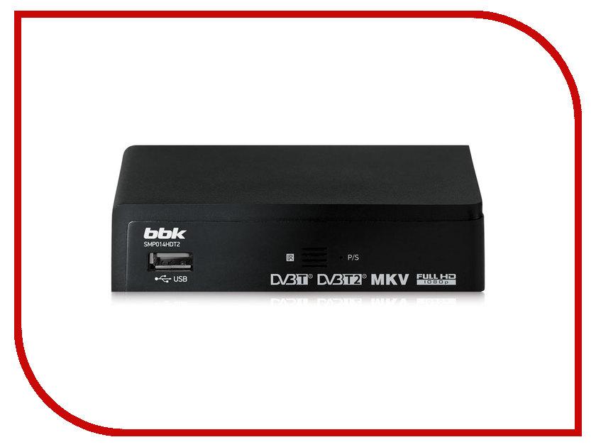 Тюнер BBK SMP014HDT2 Black