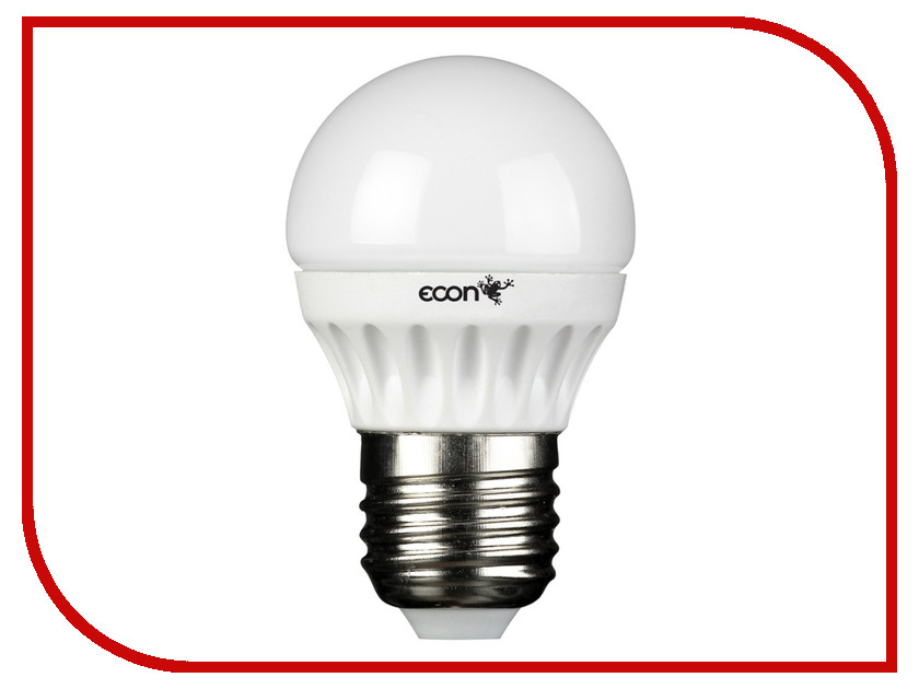 �������� Econ LED P 5W 3000K E27 P45 35021