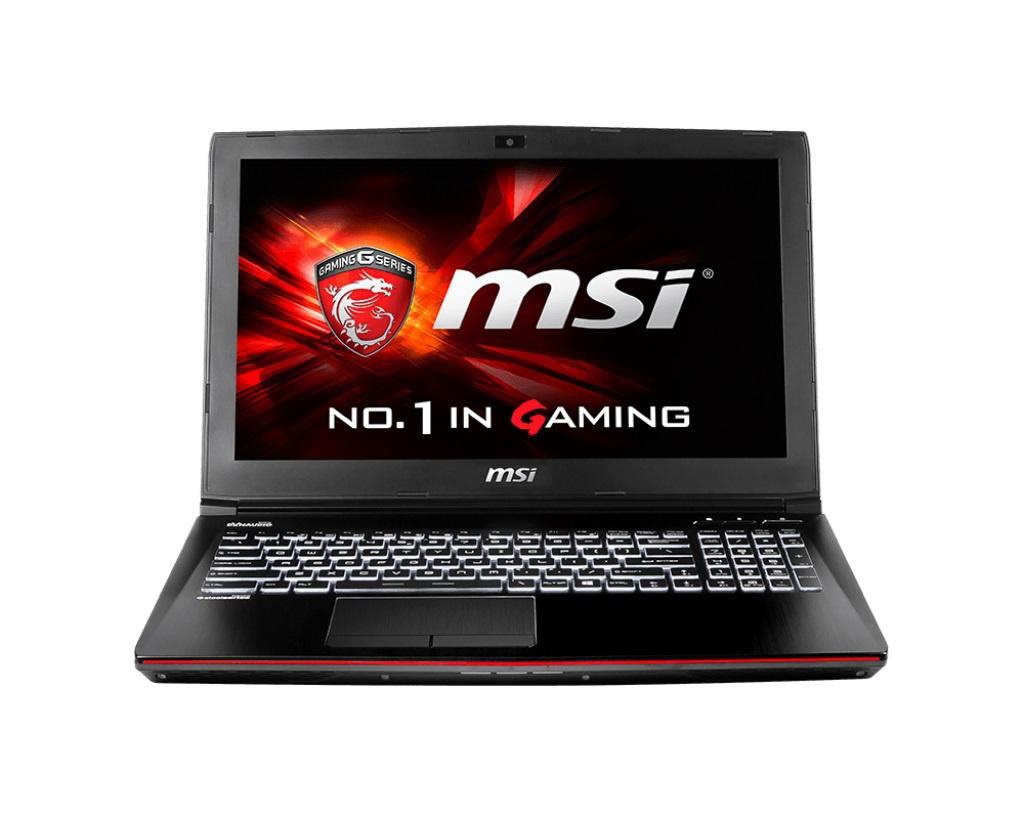 Ноутбук MSI GE62 2QC-629RU 9S7-16J222-629 Intel Core i7-5700HQ 2.7 GHz/8192Mb/1000Gb/DVD-RW/nVidia GeForce GTX 960M 2048Mb/Wi-Fi/Bluetooth/Cam/15.6/1920x1080/Windows 10 64-bit
