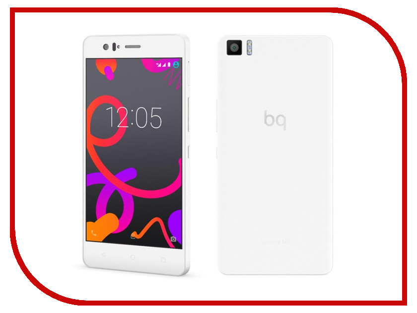 Сотовый телефон BQ Aquaris M5 32Gb 3Gb Ram White<br>