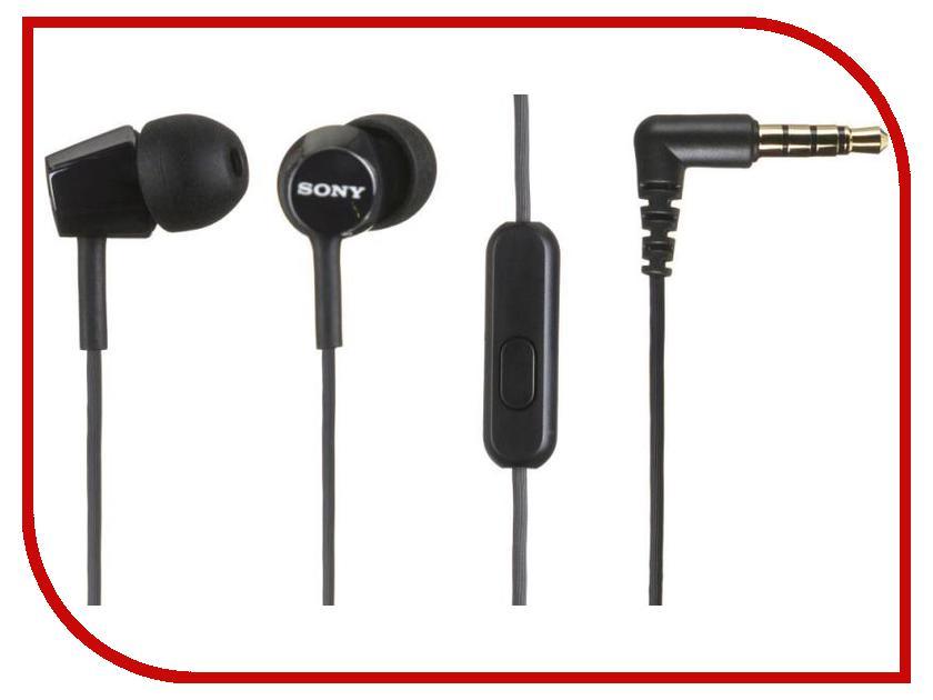 Гарнитура Sony MDR-EX150AP Black<br>