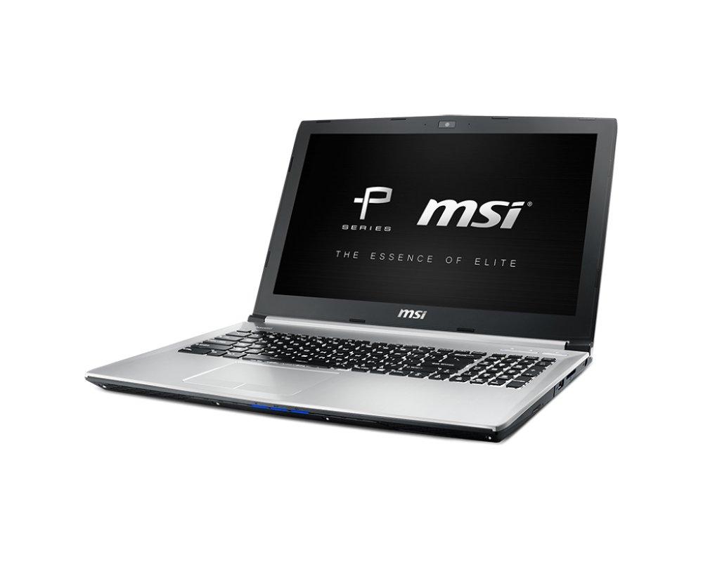 Ноутбук MSI PE60 6QE-083RU Silver 9S7-16J514-083 Intel Core i7-6700HQ 2.6 GHz/8192MB/1000Gb/DVD-RW/nVidia GeForce GTX 960M 2048Mb/Wi-Fi/Bluetooth/Cam/15.6/1920x1080/Windows 10