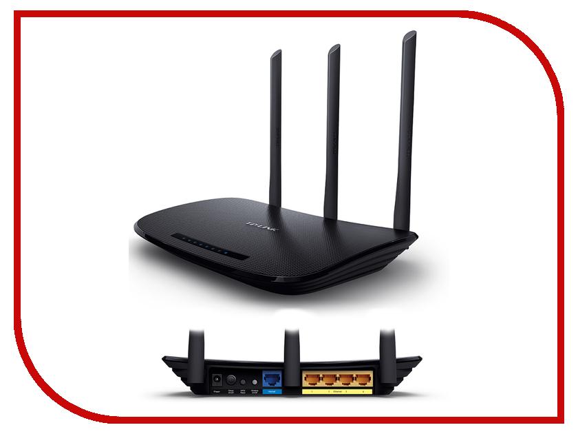Wi-Fi роутер TP-LINK TL-WR940N 450M wi fi роутер tp link tl wn722n