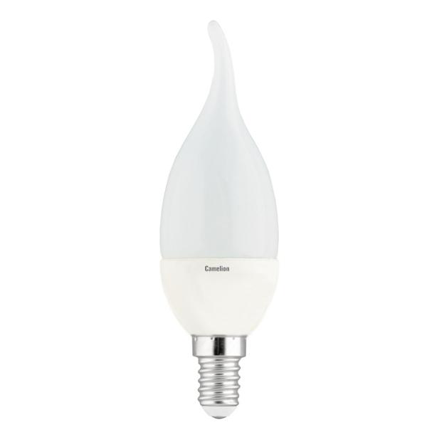 Лампочка Camelion E14 CW35 7W 220V 3000K 530Lm LED7-CW35/830/E14