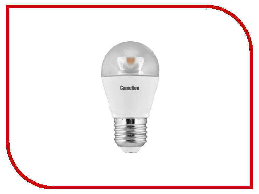Лампочка Camelion LED6.5-G45-CL/830/E27<br>