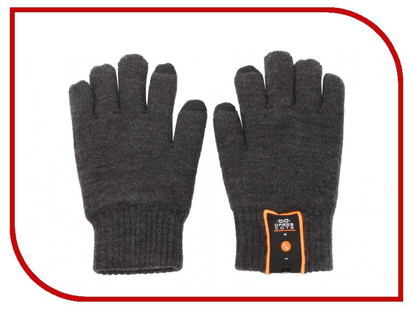 Теплые перчатки для сенсорных дисплеев DressCote Talkers Size M Grey<br>