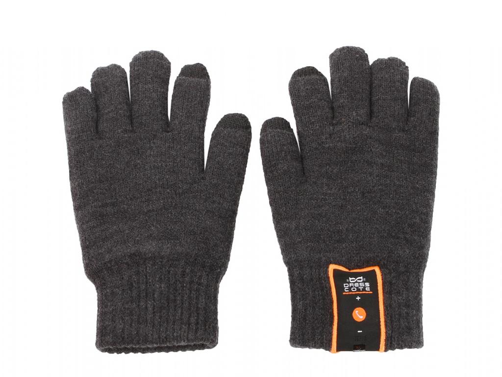 Теплые перчатки для сенсорных дисплеев DressCote Talkers Size M Grey
