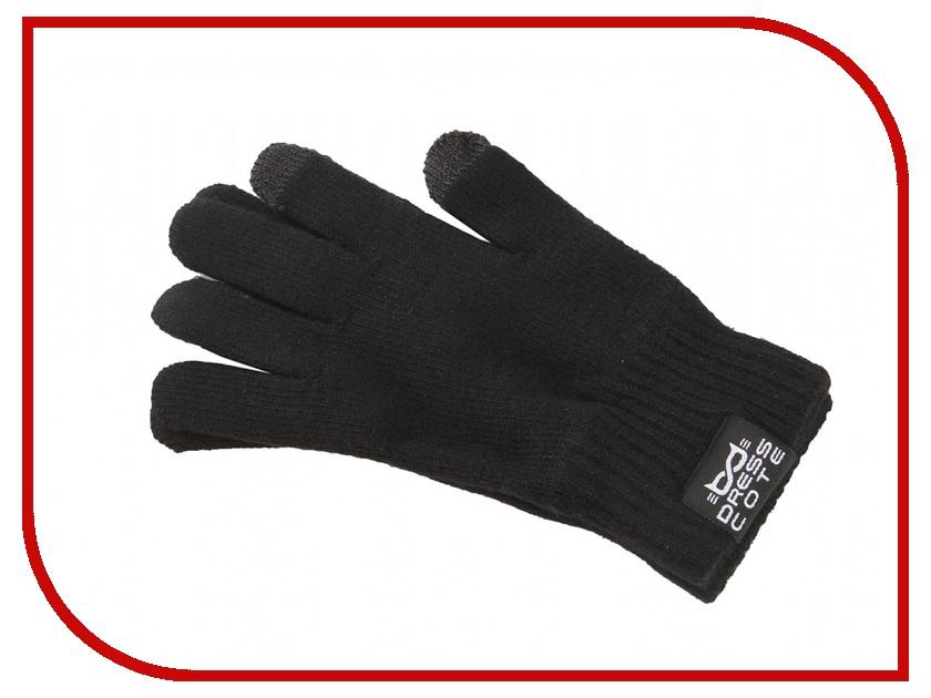 Теплые перчатки для сенсорных дисплеев DressCote Touchers Size M Black<br>