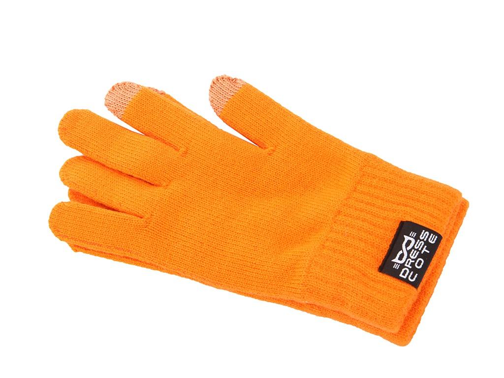 Теплые перчатки для сенсорных дисплеев DressCote Touchers Size S Orange