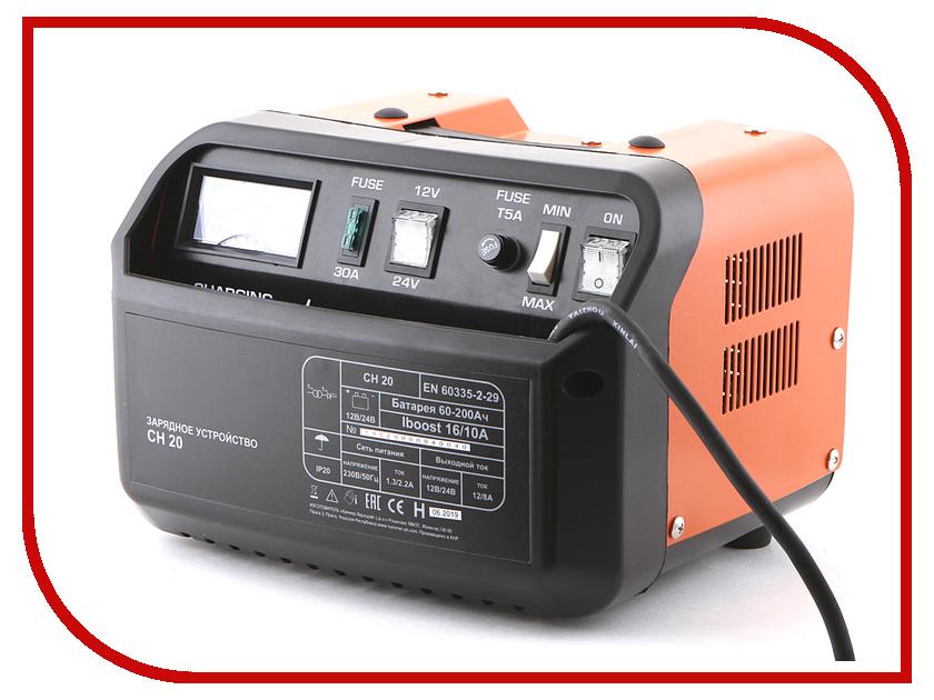 Зарядное устройство для автомобильных аккумуляторов Wester CH20<br>