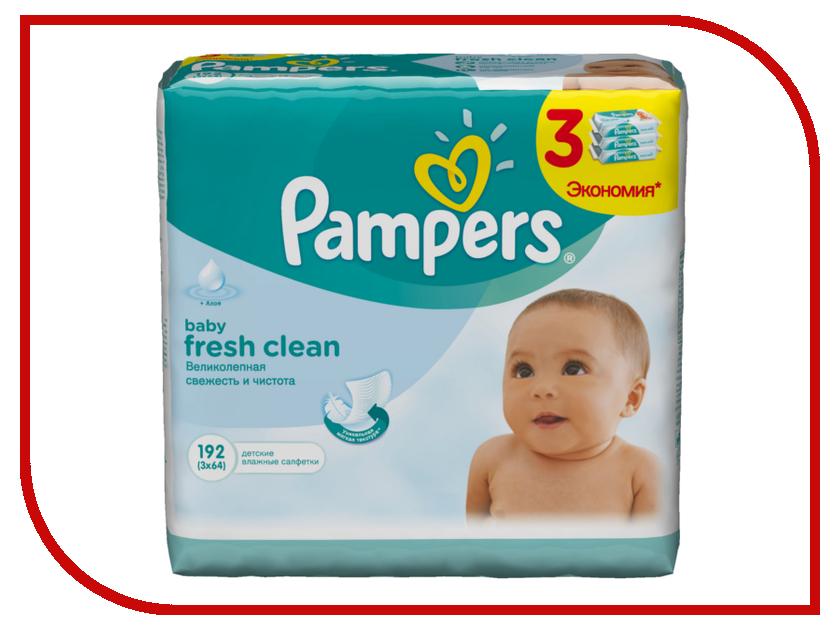Салфетки Pampers Baby Fresh Clean 192шт 4015400439233